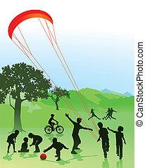 רשות פלסטינאית, ילדים, בני נוער