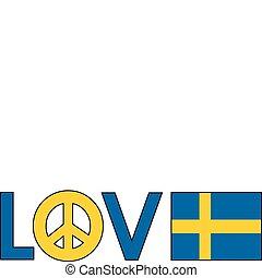 שבדיה, שלום, אהוב