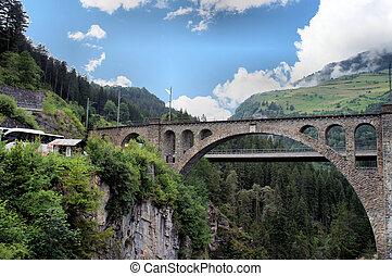 שוויצרי, גשרים