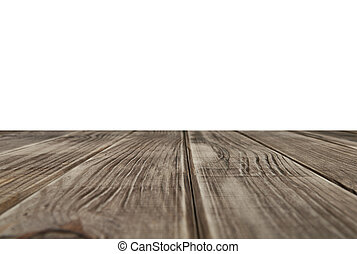 שולחן מעץ, הציין, ריק