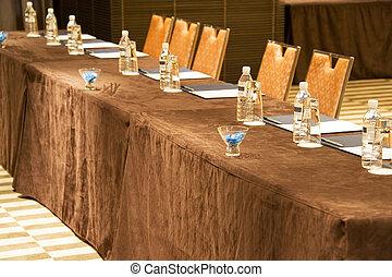 שולחן, פגישה