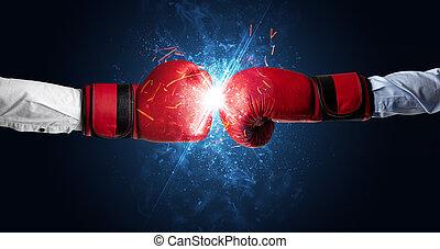 שונה, מושג, יסודות, להלחם, ידיים