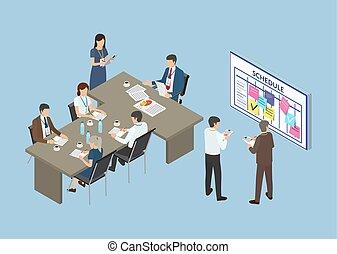 שותפים, סמינר של עסק, התחבר, ועידה