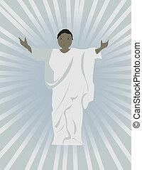 שחור, ישו