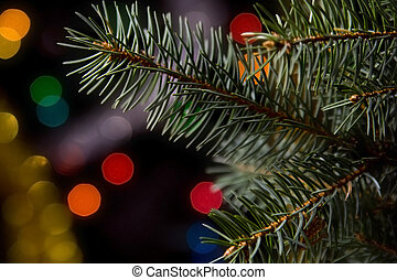 שחור, קישוטים של חג ההמולד