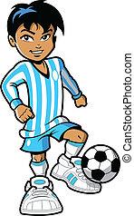 שחקן, כדורגל