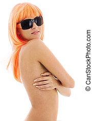 שיער, תפוז, ילדה, גוונים