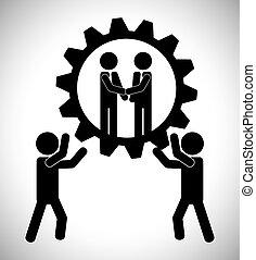 שיתוף פעולה, עצב