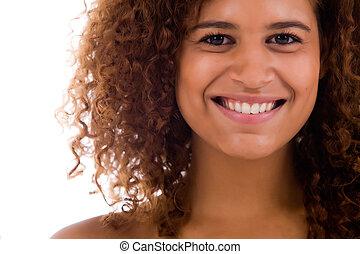 של השיניים, אישה, אפריקני