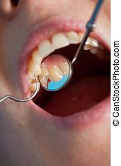 של השיניים, בדיקה כללית