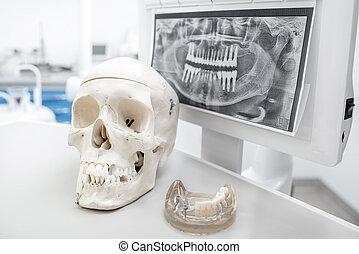 של השיניים, דחוף
