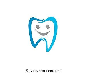 של השיניים, לוגו, דפוסית