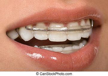 של השיניים, מישענים
