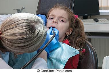 של השיניים, מרפאה