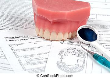 של השיניים, צורות