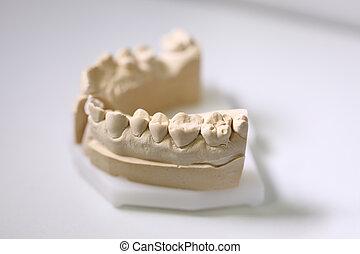 של השיניים, רופא שניים, אוביקטים