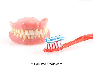 של השיניים, care.