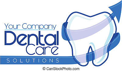של השיניים, logotype, עצב
