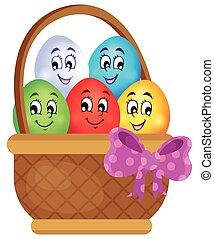 של נושא, ביצים, 5, דמות, חג הפסחה
