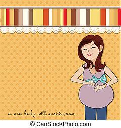 שמח, אישה בהריון