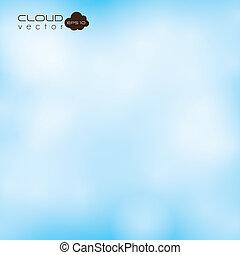 שמיים, ברור, עננים