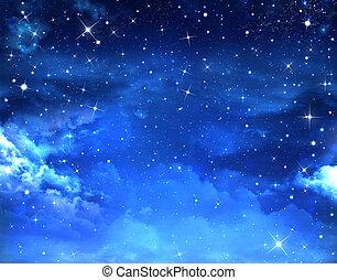 שמיים כוכביים