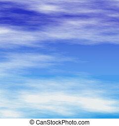 שמיים כחולים