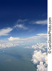 שמיים כחולים, הבט, מ, מטוס, מטוס