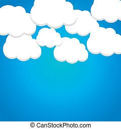 שמיים, עננים