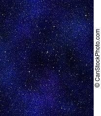 שמיים של לילה, או, כוכבים, פסק