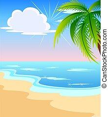 שמיימי, חוף