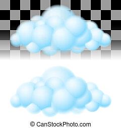 שני, clouds.
