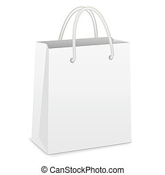 שקית, לבן, קניות