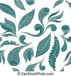 שרבט, feathers., seamless, תבנית