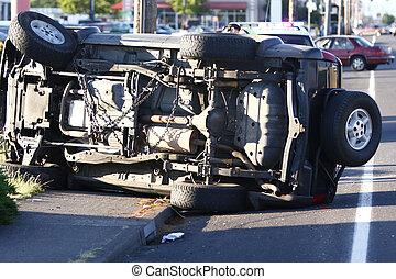 תאונה של מכונית