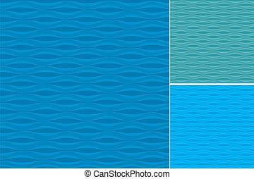 תבניות, קבע, גלים