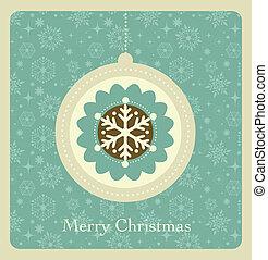 תבנית, חג המולד, רקע, ראטרו