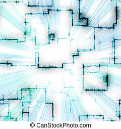 תבנית, מואר, גיאומטרי