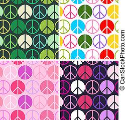 תבנית, שלום, צבעוני, seamless