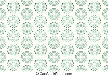 תבנית, seamless, צורות, וקטור, ירוק, גיאומטרי