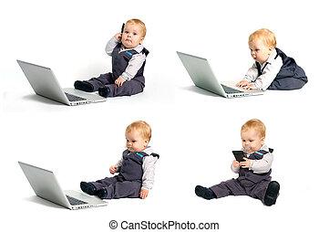 תינוק, טכנולוגיה