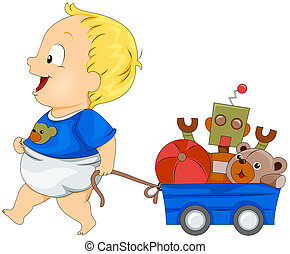 תינוק, צעצועים