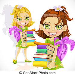 תלמידה, ספרים, לגוז