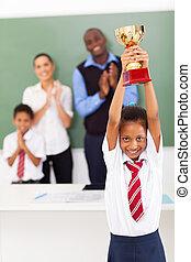 תלמידה, שלל, להחזיק