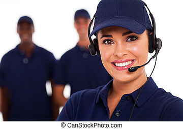 תמיכה טכנית, התקשר למרכז, מפעיל