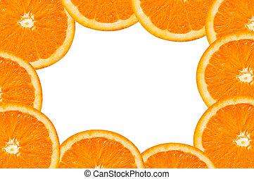 תפוז, הסגר, פרוסות