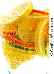 תפוז, לימון, לימונית, קוקטייל, מנדרינה