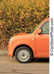תפוז, מכונית