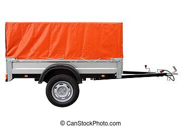 תפוז, מכונית, trailer.