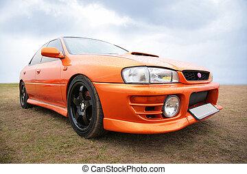 תפוז, ספורט, מכונית